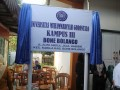 FOTO PENGRESMIAN KAMPUS III UMG BONBOL (1)
