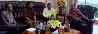 Siapkan SDM Kedokteran Pimpinan UMG Temui Gubernur