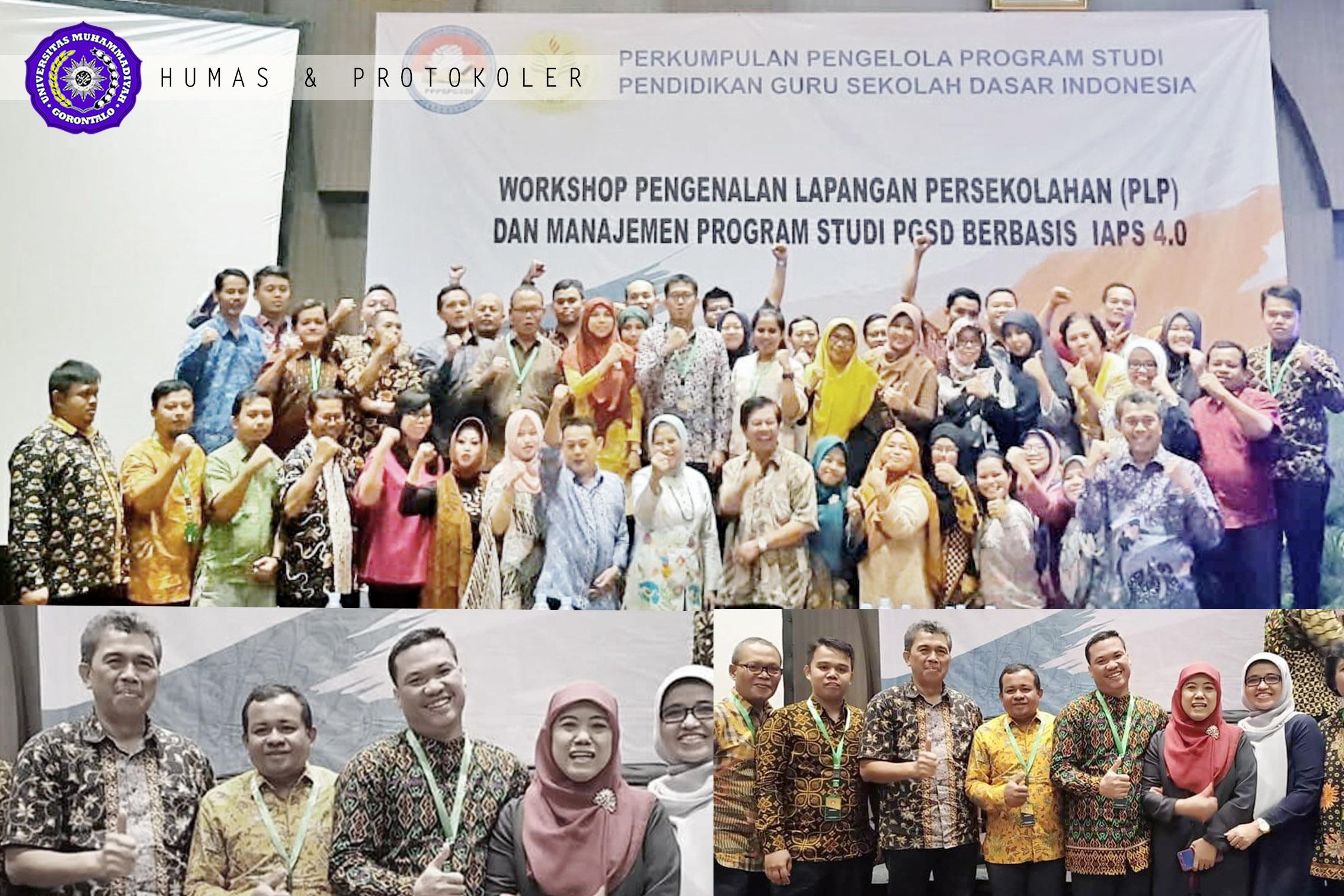 Dosen UM-Go Dilantik Sebagai Pengurus P3PGSDI di Jakarta