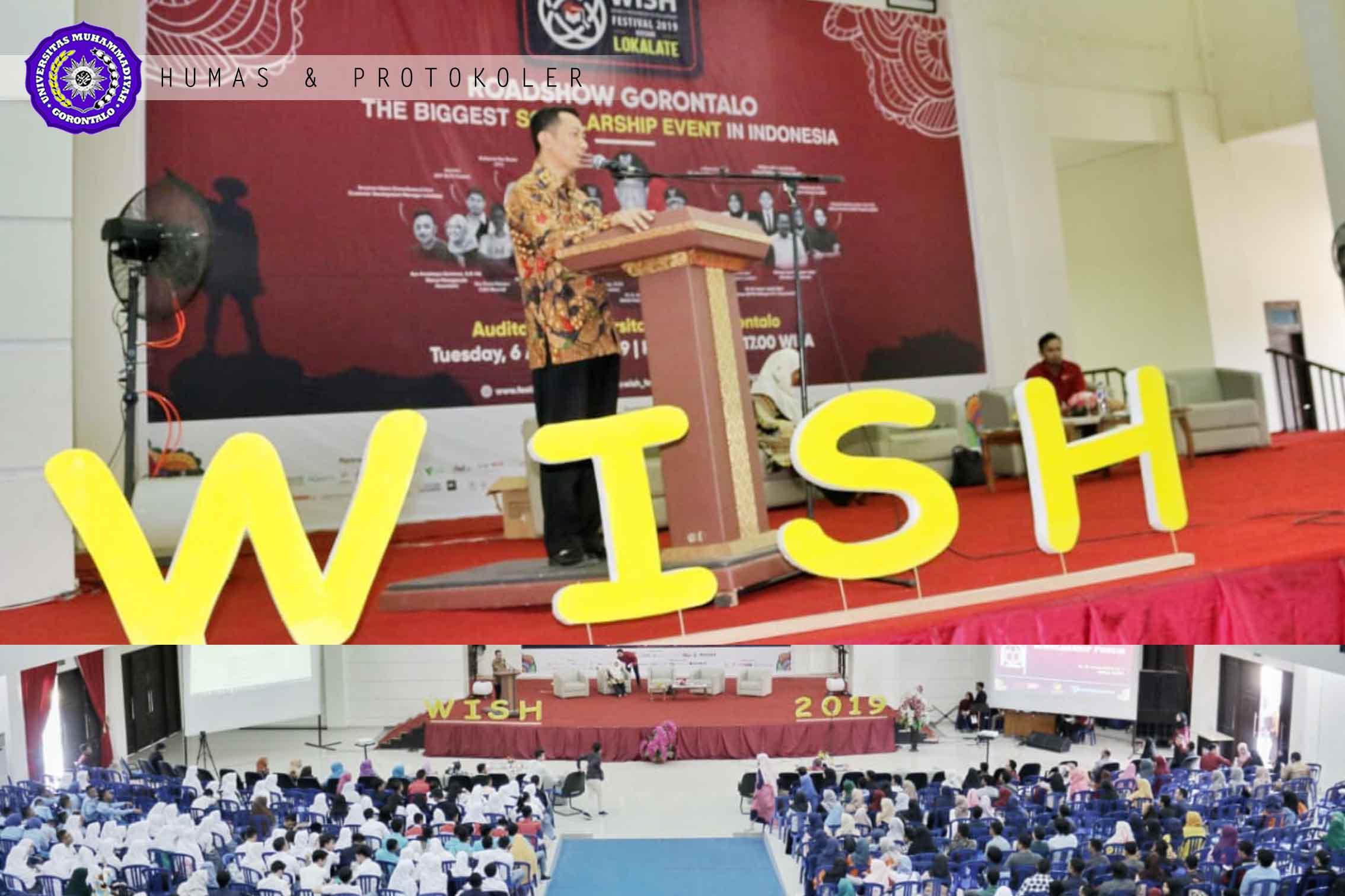 Rektor Jadi Pembicara di Festival WISH 2019, Booth Pameran Dikerumuni Pelajar
