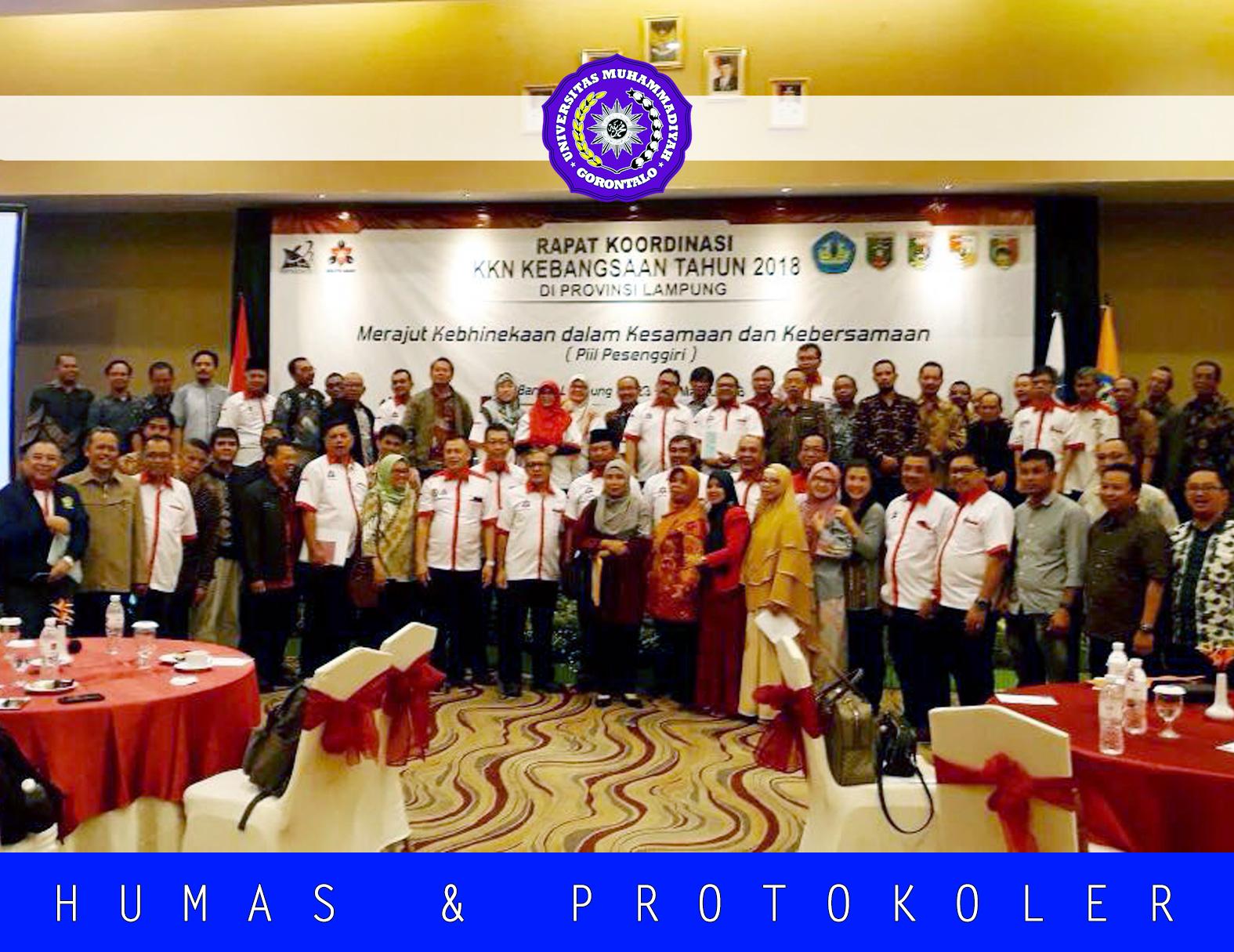 Dari Rakor Persiapan Pelaksanaan di Lampung, UMGo Kembali Bersiap Ikut KKN Kebangsaan