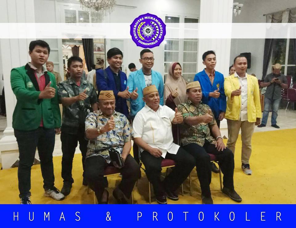 BEM Silaturrahmi Dengan Gubernur Gorontalo