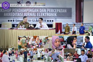 Workshop Akreditasi Jurnal Elektronik, Kemenristekdikti Percayakan UM-Go Sebagai Tuan Rumah