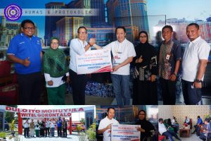 UM-Go Terima 6 Unit Komputer dari PT. Telkom Makassar