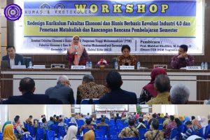 Rangkaian Munas AFEB di UM-Go, Workshop Kurikulum Ekonomi Digital