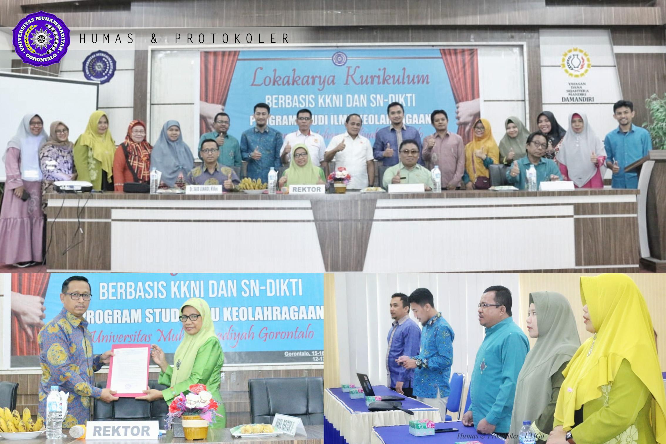 Lokakarya Kurikulum Berbasis KKNI-SN, Menuju Prodi Ilmu Keolahragaan