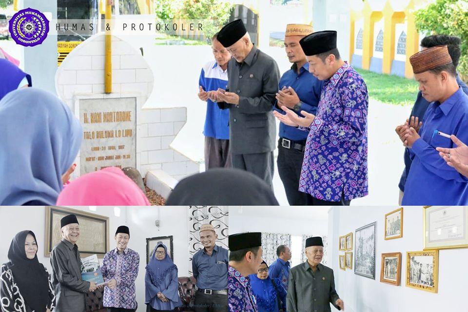 Ziarah ke Makam Pahlawan, Pimpinan UM-Go Do'akan 2 Pejuang Komite 12