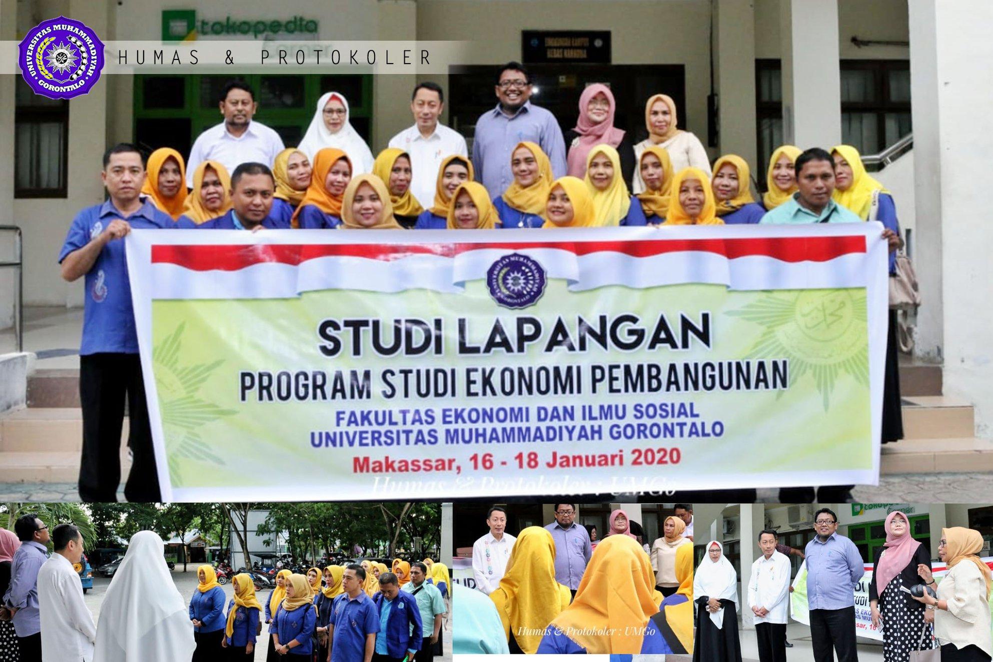 Rektor Lepas 28 Mahasiswa ke Makassar