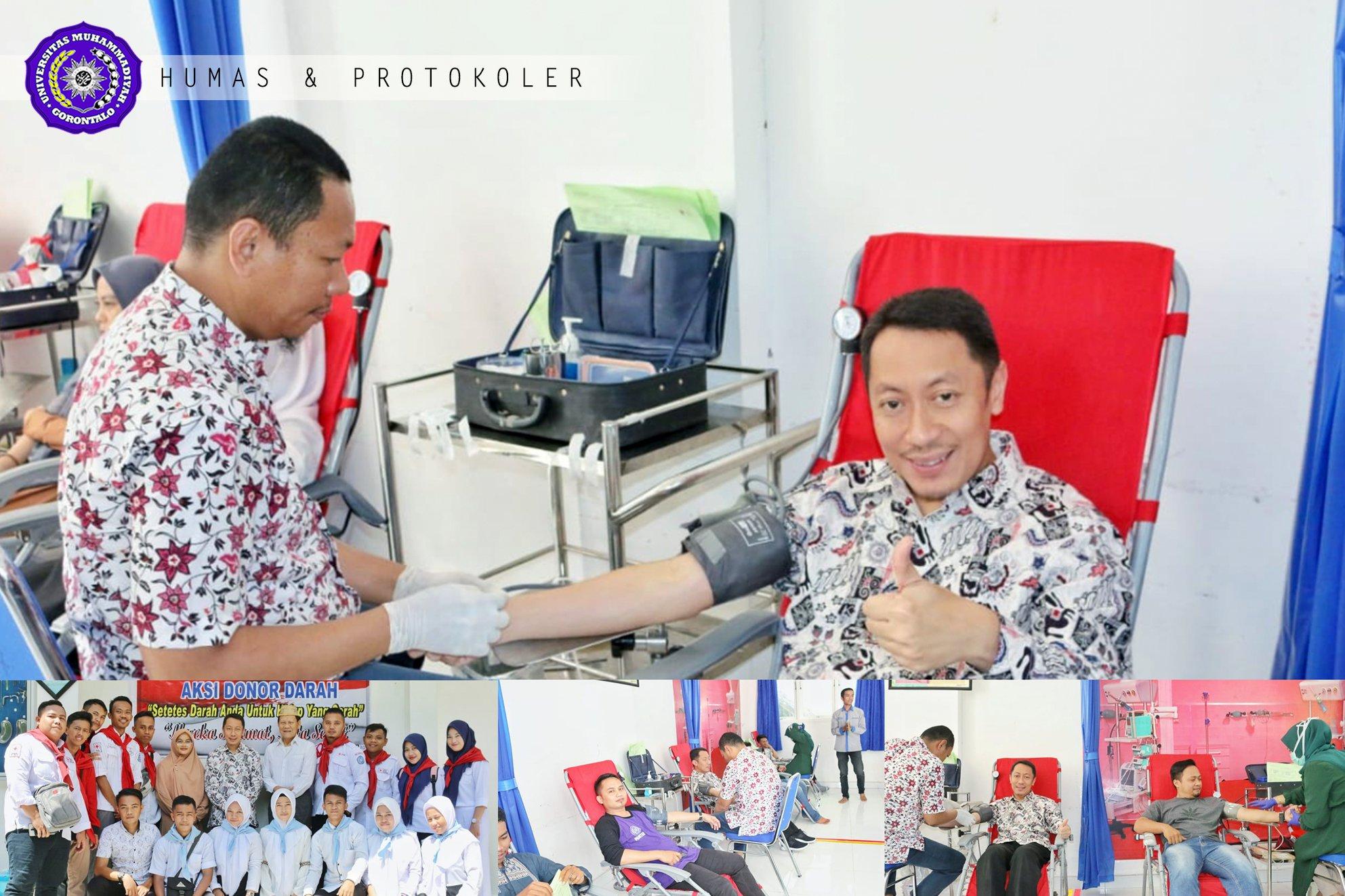 Donor Darah Jadi Kebanggan dan Gaya Hidup UM-Go