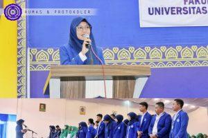 Pelantikan Ormawa FIKES, Dyah Rofifah Lantik 3 Pengurus HMPS