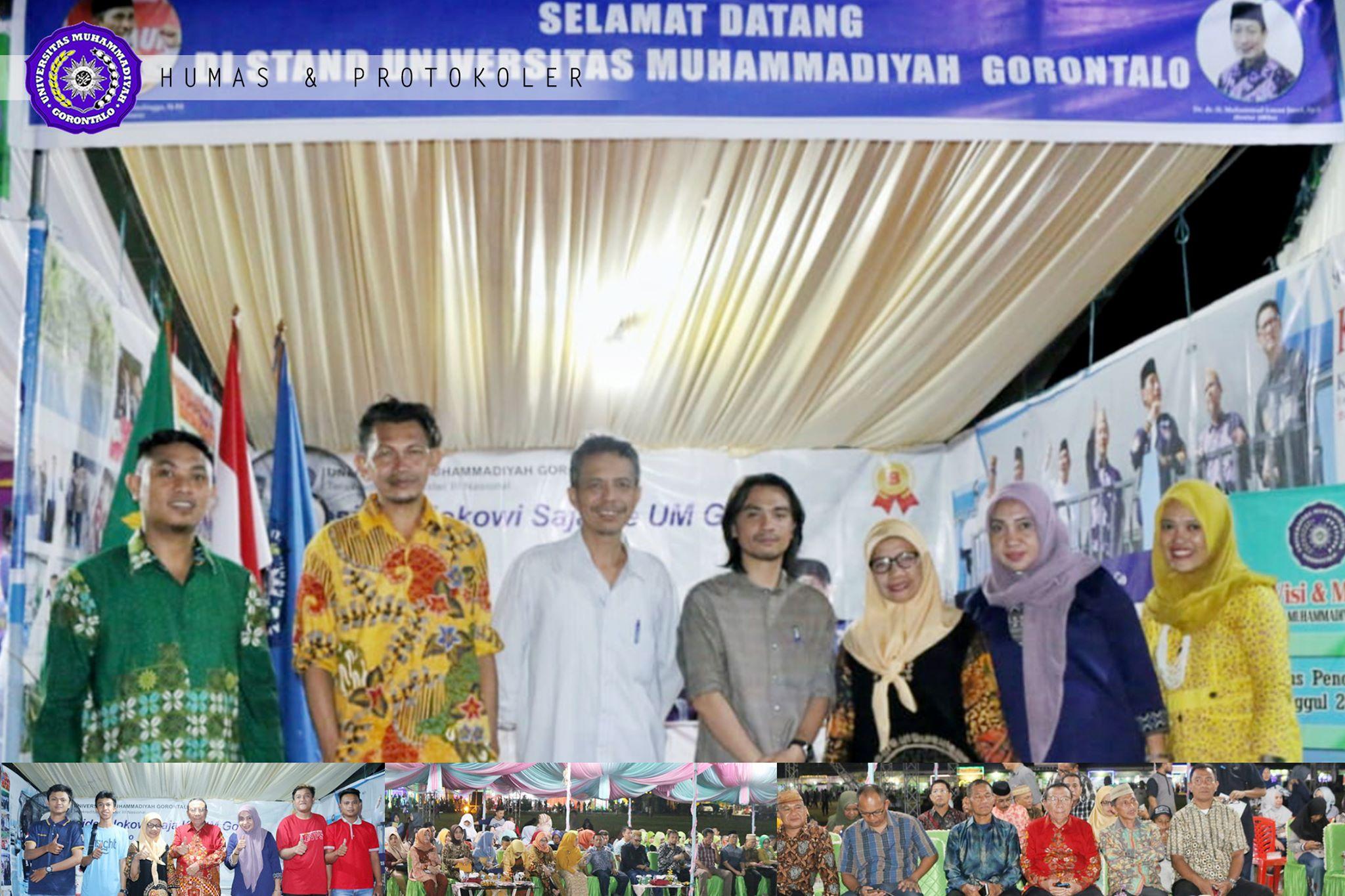 UM-Go Sosialisasikan Kampus di Gorontalo Gemilang Fair 2020