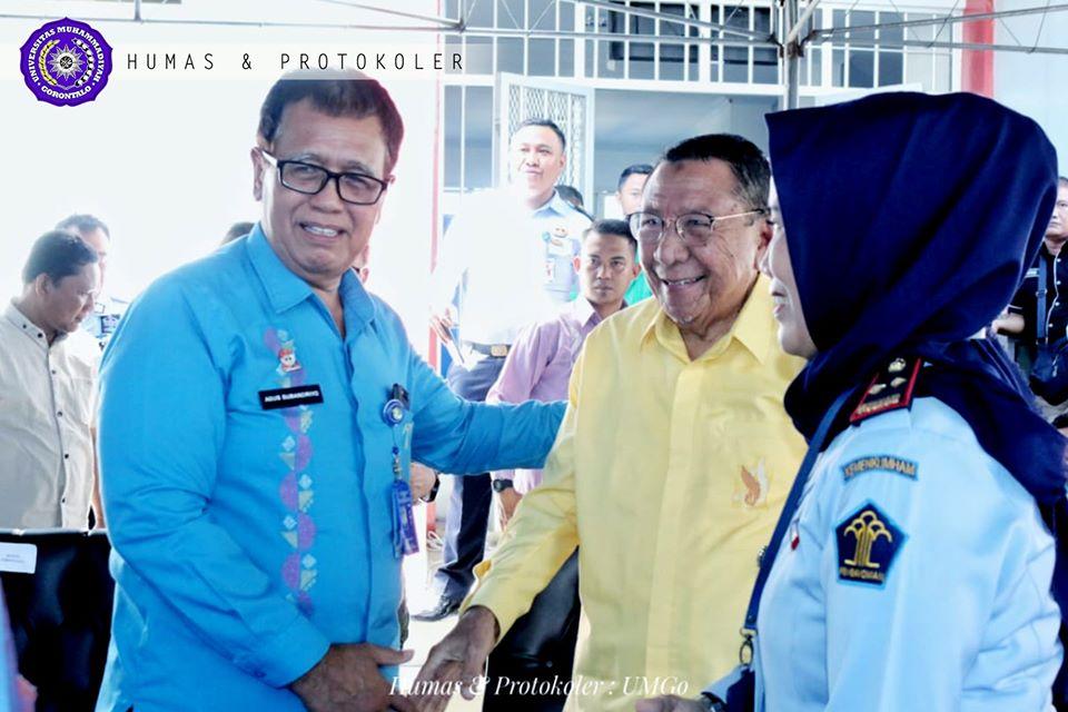 Drs. Sjamsuddin Hadiri Milad ke 3 Lapas Perempuan Gorontalo
